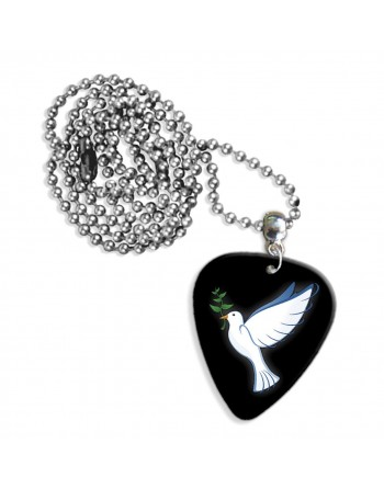 Peace dove necklace with...