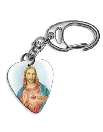 Jezus plectrum sleutelhanger