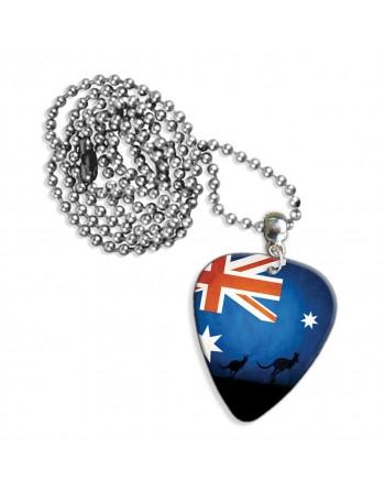 Australische vlag met...