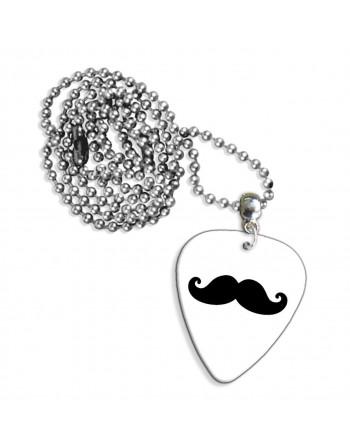 Mustache ketting met plectrum