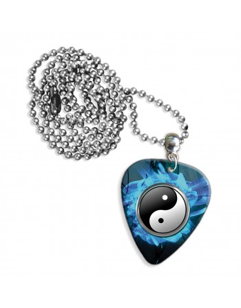 Yin Yang necklace with pick