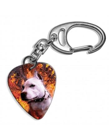 Pitbull hond plectrum...
