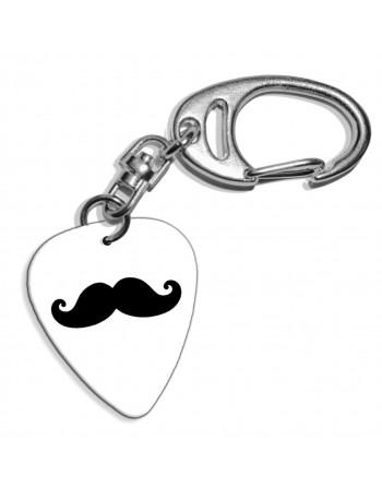 Mustache plectrum...