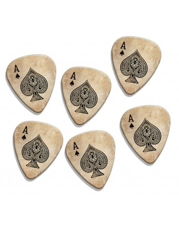 Ace of Spades plectrums