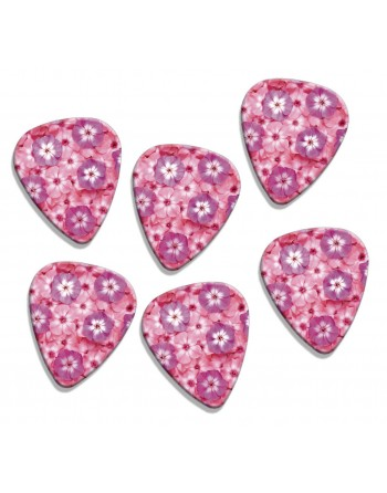 Pink and lilac flower picks
