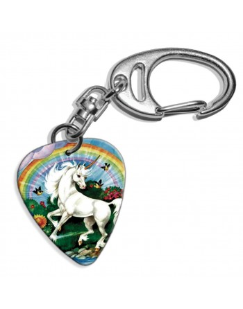 Unicorn plectrum sleutelhanger