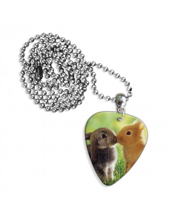 Pick necklace with image of...