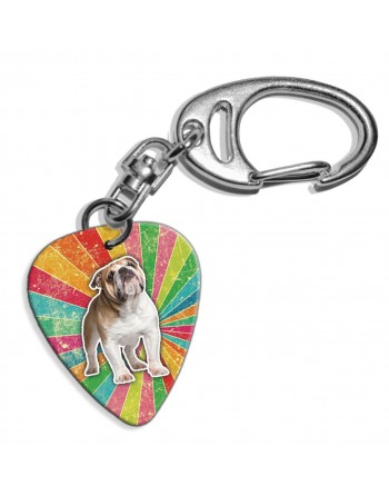 Plectrum key ring with the...