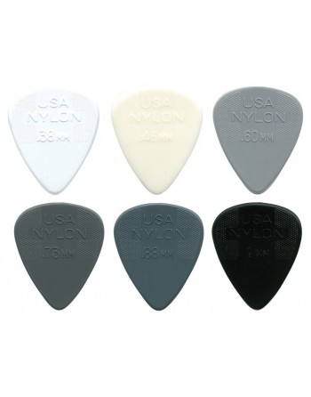 Dunlop Nylon plectrum...