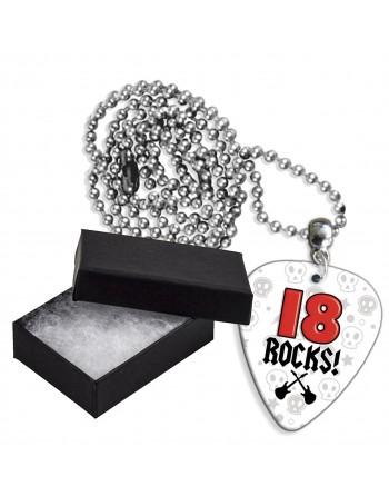 18 Rocks aluminium plectrum...