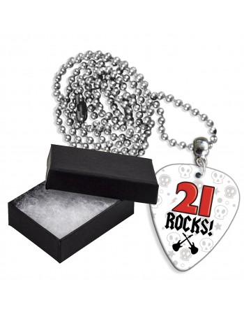 21 Rocks aluminium plectrum...