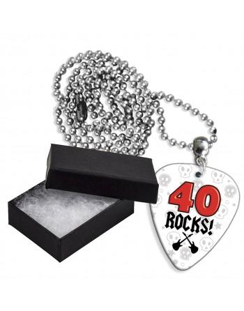40 Rocks aluminium plectrum...