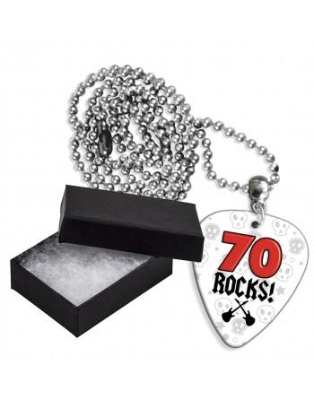 70 Rocks aluminium plectrum...