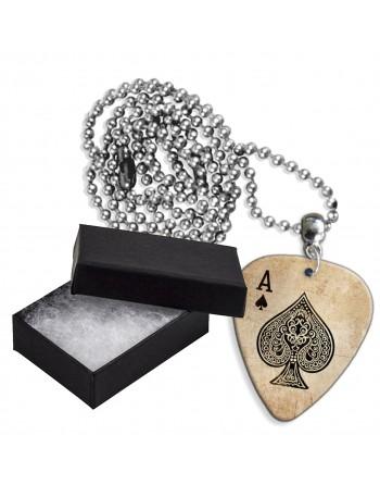 Ace of Spades aluminum pick...