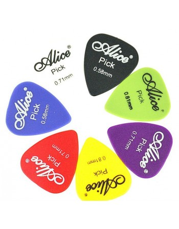 Alice 0,71 mm plectrum nylon