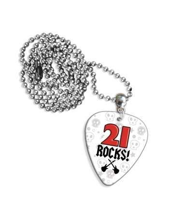 21 Rocks necklace with pick