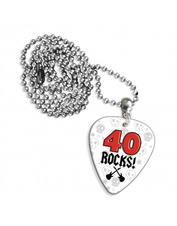 40 Rocks necklace with pick