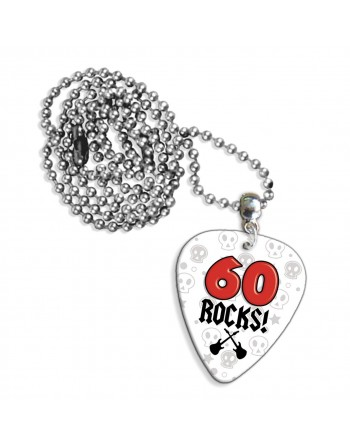 60 Rocks necklace with pick