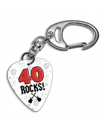 40 Rocks plectrum...