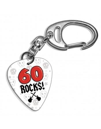 60 Rocks plectrum...
