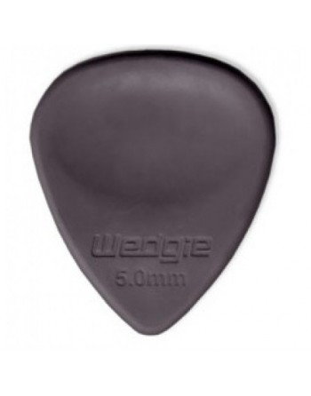 Wedgie rubber pick 5 mm Hard