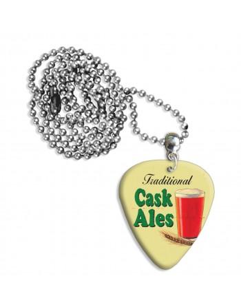 Cask Ales plectrum ketting