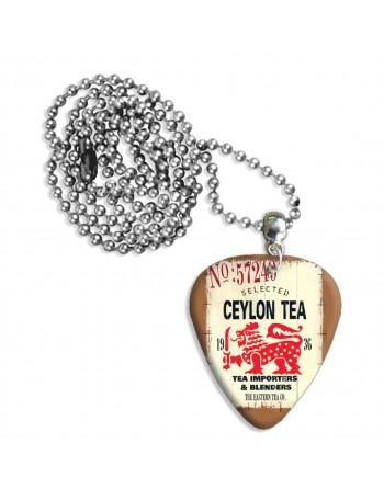 Ceylon thee plectrum ketting