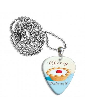 Cherry Bakewell plectrum...
