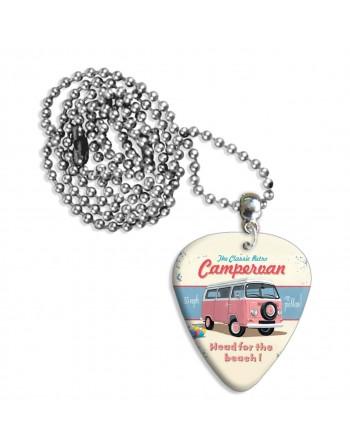 Roze Campervan plectrum...