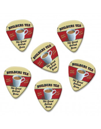 Builders Tea plectrums