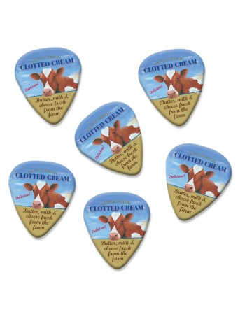 Clotted Cream plectrums