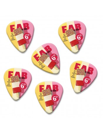 Fab Ice Lolly plectrums