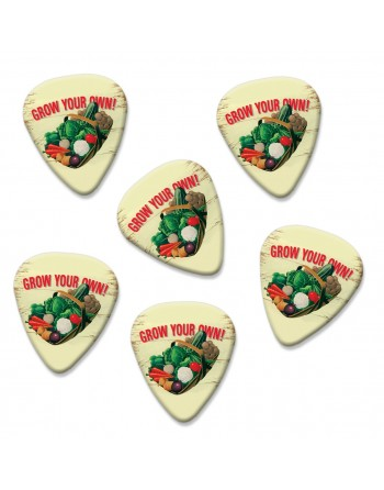 Grow Your Own plectrums
