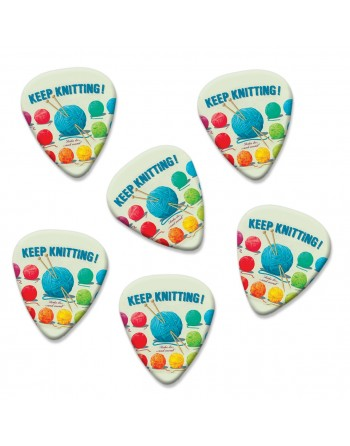 Keep Knitting plectrums