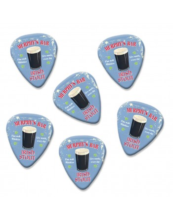 Irish Stout plectrums