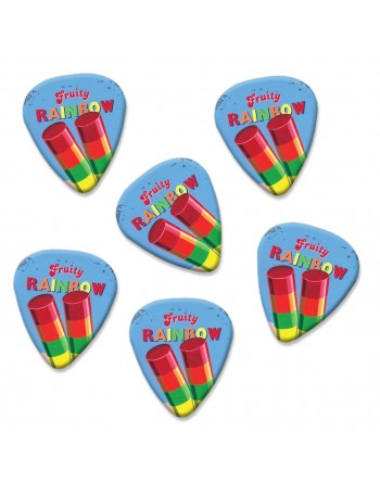 Fruity Rainbow plectrums