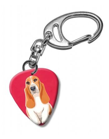 Basset Hound hond plectrum...
