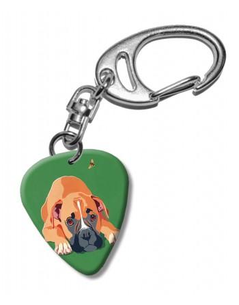 Boxer hond plectrum...