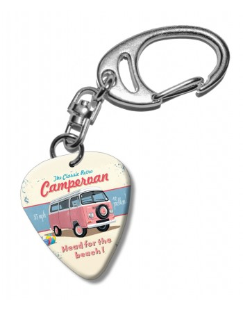 Roze Campervan plectrum...