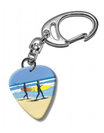Surfers op het Strand...