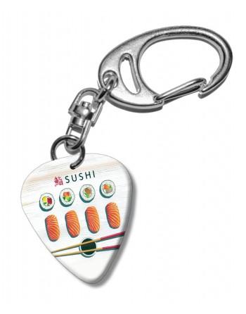 Sushi plectrum sleutelhanger