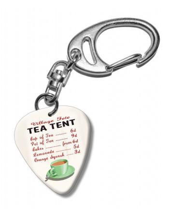 Tea Tent plectrum...