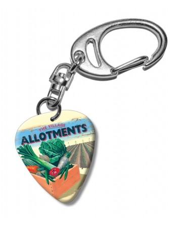 Allotments plectrum...