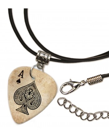 Ace of Spades ketting met plectrum
