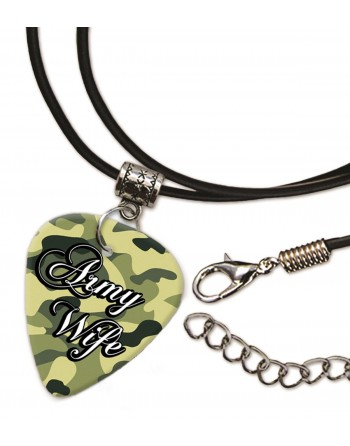 Army Wife necklace with pick