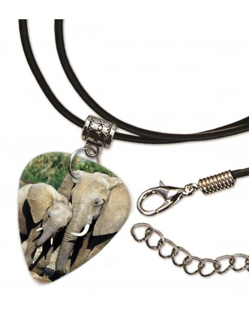 Elephant necklace with...