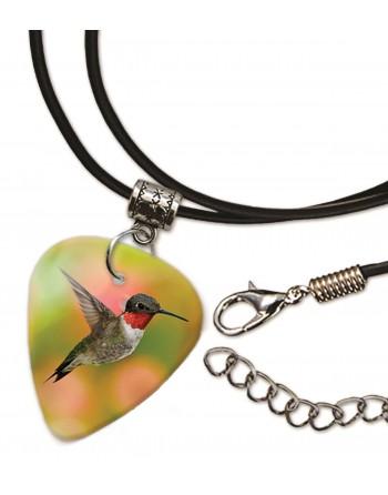 Kolibrie vogel ketting met plectrum