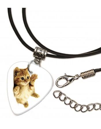 Kitten lieve kat met plectrum