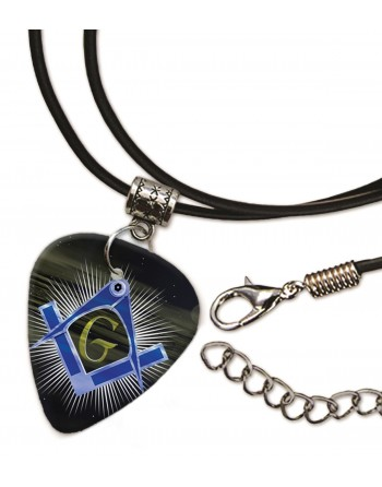 Masonic sign necklace with...
