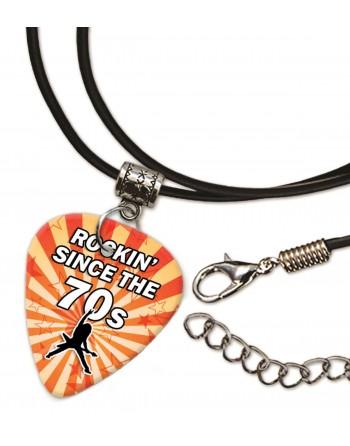 Rocking Since the 70's ketting met plectrum